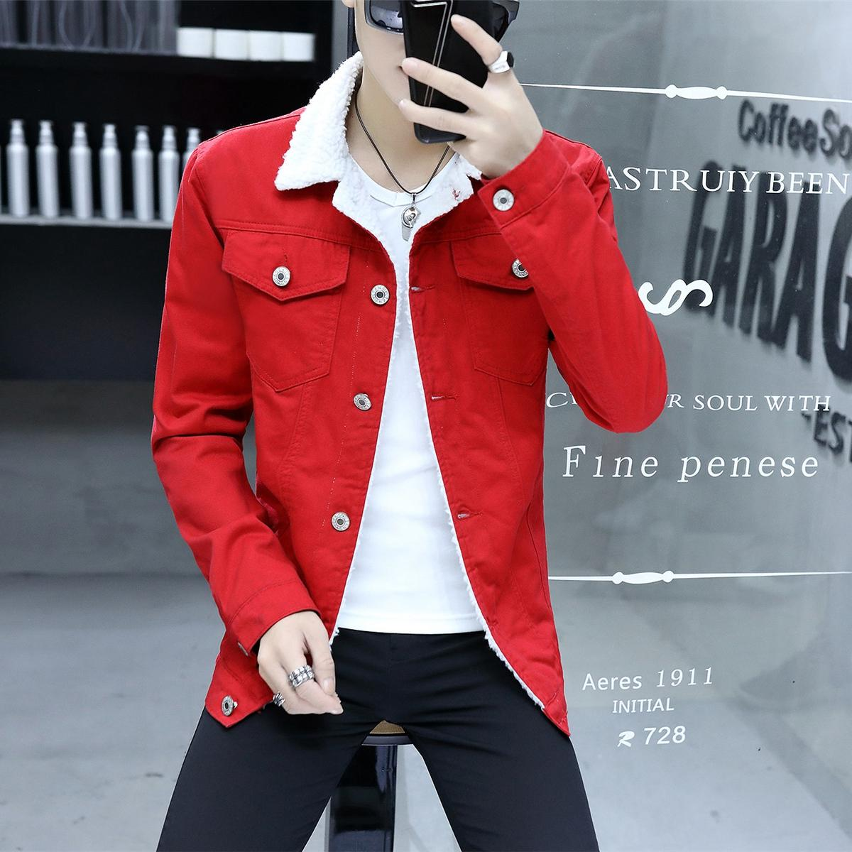 d17502dc657 2017 New Retro Warm Denim Jackets Mens Jeans Coats Winter Jackets Thicken  Denim Coat Men Outwear
