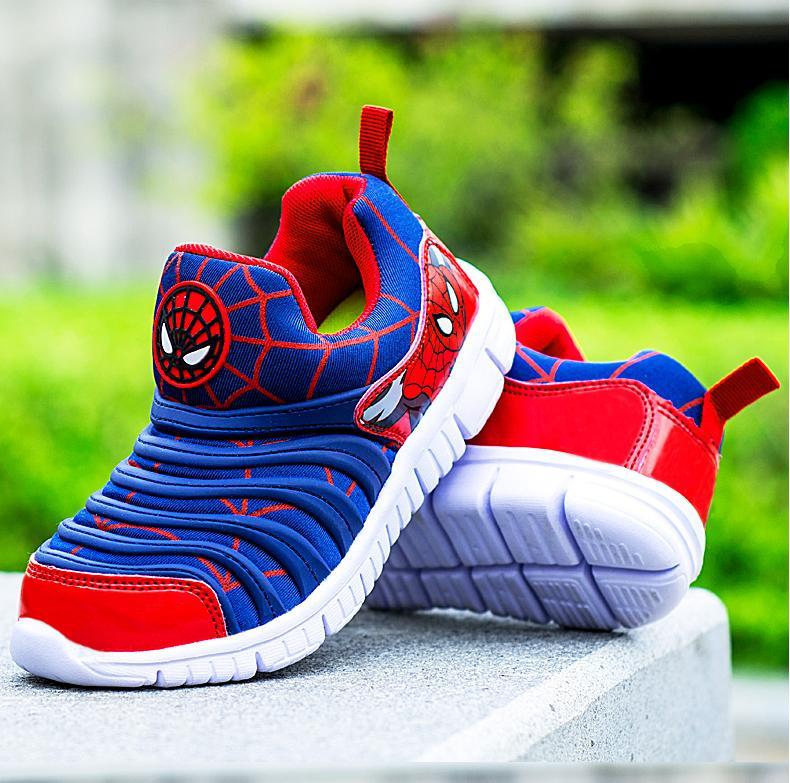 ... PINLI Ukuran 26-37 Sepatu Olahraga Anak-anak Ukuran Besar Sepatu  Bernapas Pedal Sepatu 5e325fa436