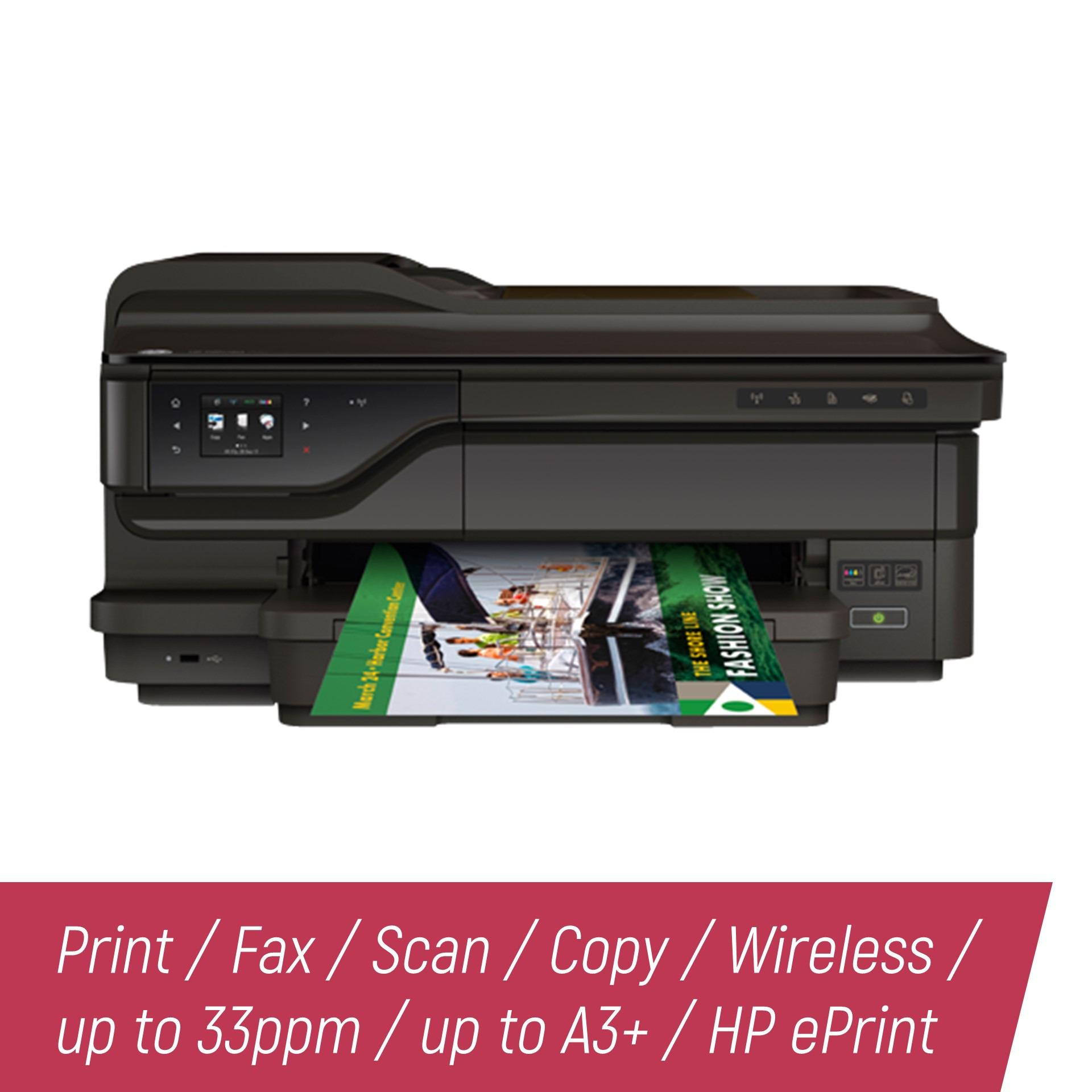 Hp Philippines Printers For Sale Prices Reviews Lazada Tinta Printer Gt 51 Black Original Officejet 7612 Wide Format Eaio W Duplexer Print Fax Scan