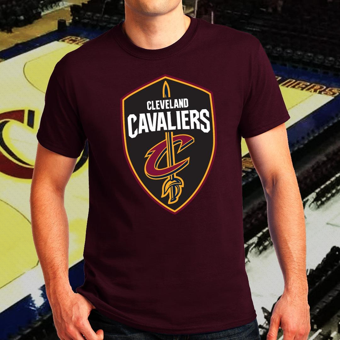 c37cd3355595 NBA Sports Basketball Team Cleveland Cavaliers T-shirt for Men - CAVS