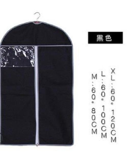 e748a2c66893 2PCS Translucent PEVA Coat Dress Jacket Garment Clothes Protective Washable  Dust Proof Cover Bag