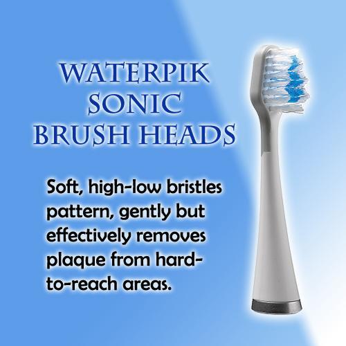 WATERPIK SONIC BRUSH HEADS