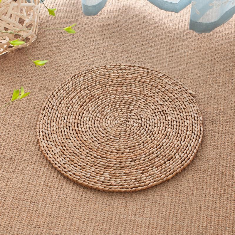 Papyrus Vine Straw Tatami Futon throw pillow Thickening Bay Window And Ventricular Meditation Buddha Meditation Coaster