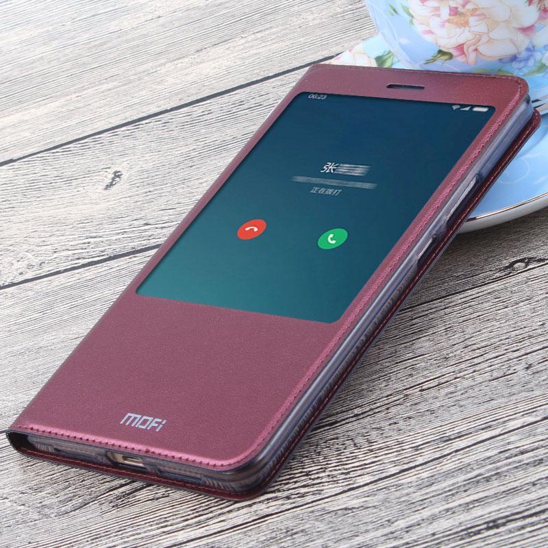 Mofi Xiaomi Max Casing HP Xiaomi MAX Cerdas dormansi bangun max1 Casing 6.44 inch Windows versi model buka tutup sarung kulit Silikon lunak Bungkus Penuh model uniseks pasang Situs resmi flagship store
