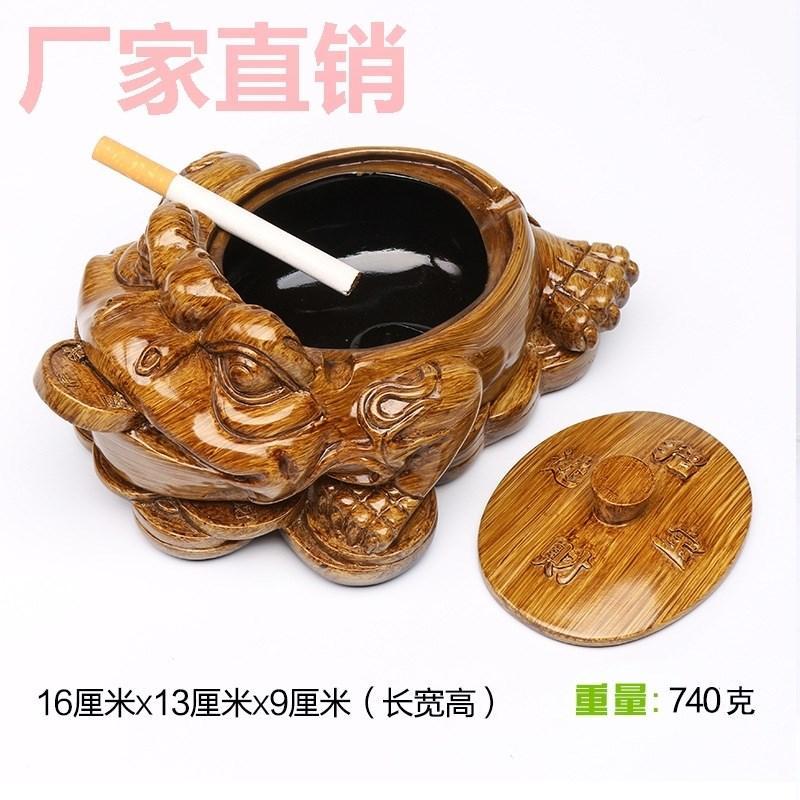 Kayu Murni Bulat dengan Penutup Kreatif Ukuran Besar/L Kayu Arang Kayu Model Tiongkok Retro