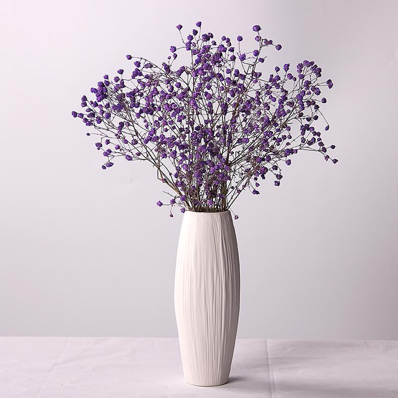 Dried Flower Vase Stars Ceramic Hipster European Style Simple Literature And Art Flower Arrangement Table Northern Europe Bedroom Living Room Decoration
