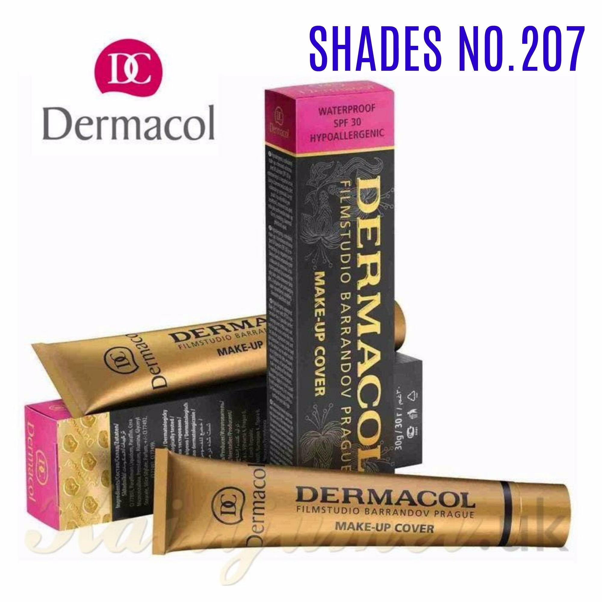 Waterproof Dermacol Make Up Cover Shades 207 Philippines