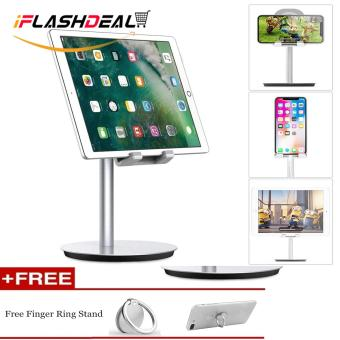 Harga yang baik iFlashDeal Phone Stand Dock, iPad Stand Desk Dock, Aluminum Adjustable Stand