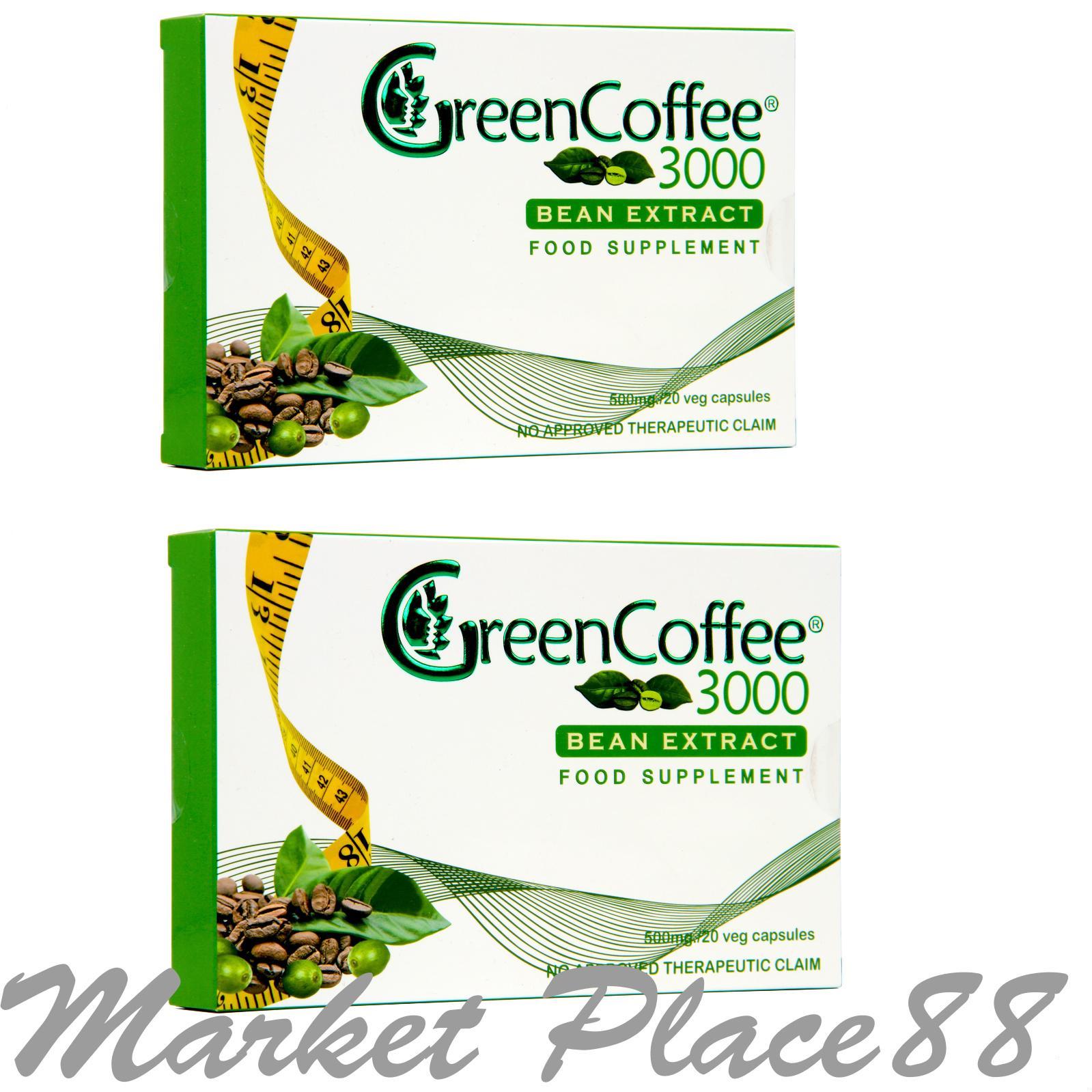 Green Coffee Philippines Price List Arabica Capsule Pure Organic 60 Caps 3000 Bean Extract Set Of 2