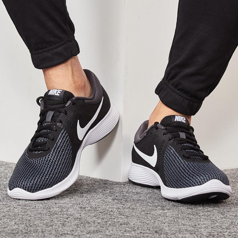 Detail Gambar Nike Sepatu Running Sepatu Olah Raga Baru Produk Asli Musim  Panas Pria (Hitam neon kuning batu vulkanik Hong) Terbaru 267d246a24
