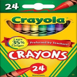 CRAYOLA CRAYONS 24 COLORS Set Of 2