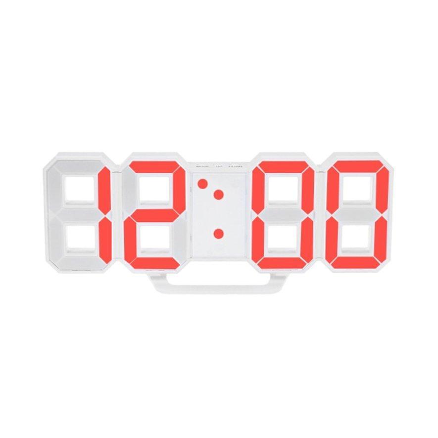 Angel Desain Modern Ukuran Besar Digital Dinding LED Clock Watch Rumah  Timer Jam Alarm 9516b3a752
