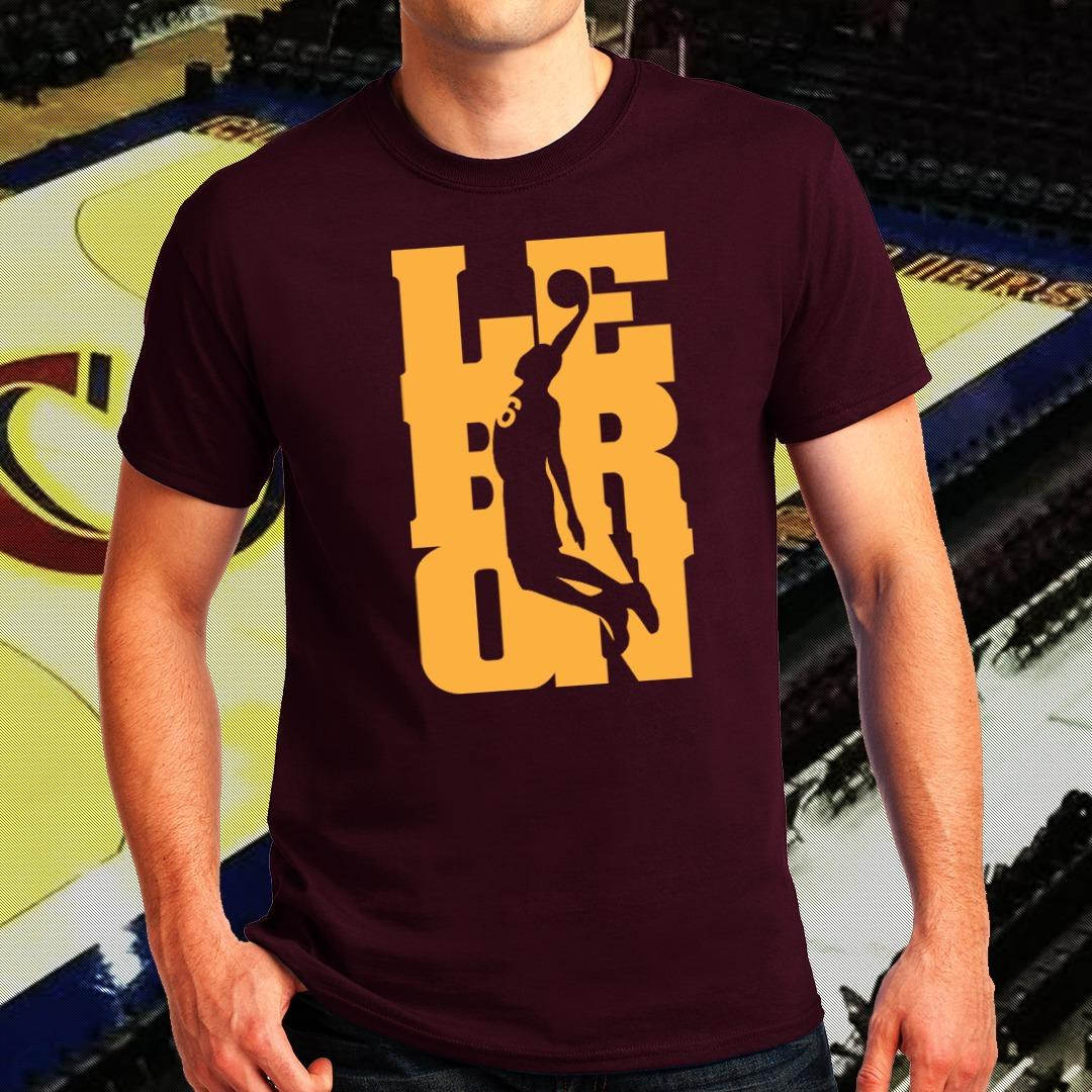 34bb96a25197 NBA Sports Basketball Team Cleveland Cavaliers T-shirt for Men - Lebron  James