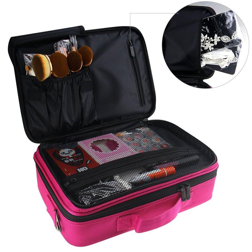 High Quality Professiona 3 Layered Make Up Storage Bag Organizer Philippines