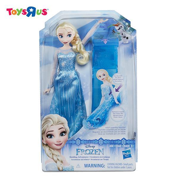 Disney Frozen Sledding Adventure Elsa