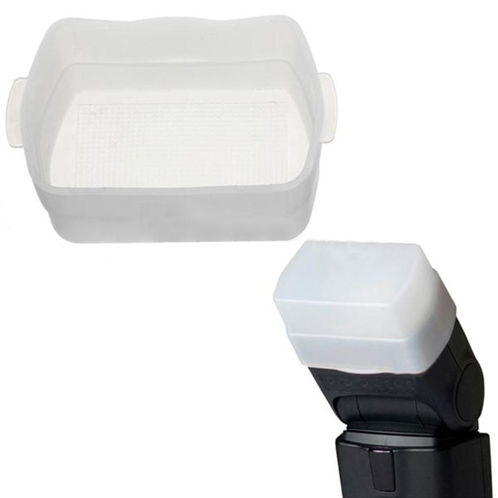 Softbox Flash Rebound Diffuser untuk Bisa Di Speedlight Speedlite 430EX 430 EX II Putih-Intl