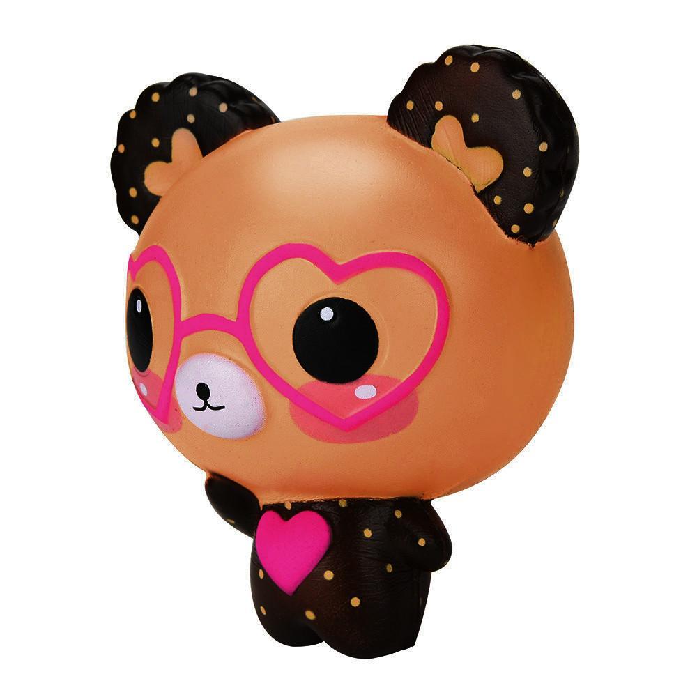 Fitur Licin Cinta Kacamata Lucu Beruang Wangi Jumbo Pesona Super Mainan Lambat Rising Squeeze 4