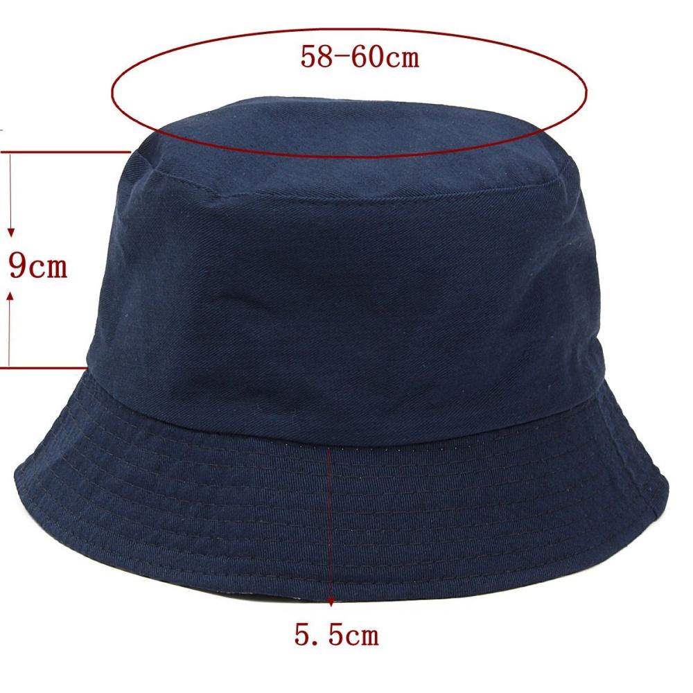 100% Cotton Adults Bucket Hat - Summer Fishing Boonie Beach Festival ... bfaeb4d6fd6