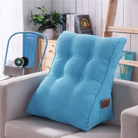 New Style Hot Sale Bedside Soft throw pillow Multi-functional Spine TRIANGLE Back throw pillow Pregnant Women Nursing Backrest Tatami Waist Backrest