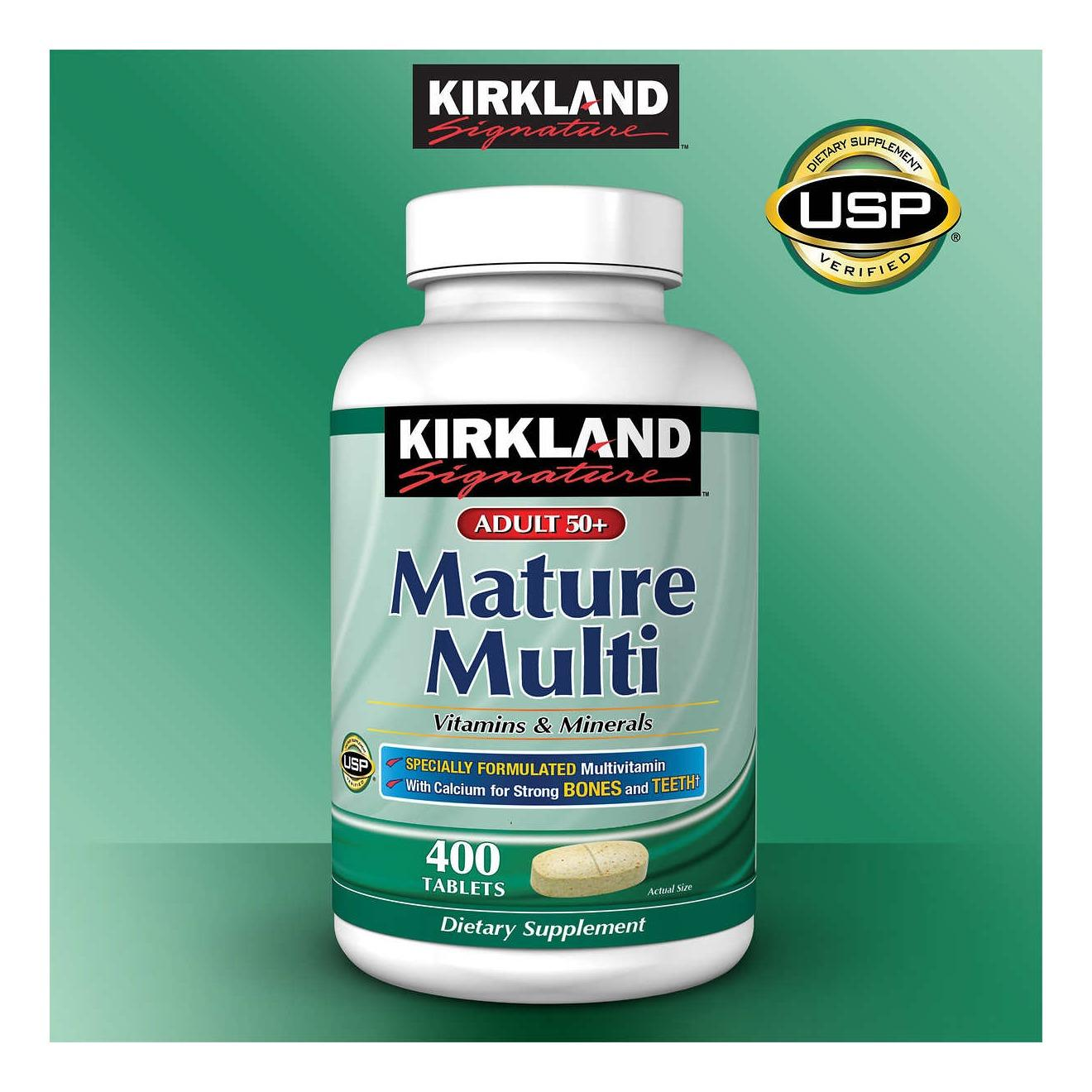 Kirkland Philippines Price List Vitamins Food Signature Extra Strength Glucosamine Hci 1500mg With Msm Mature Multi 1000mg 400 Tablets