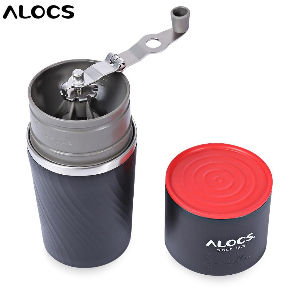 Alocs Cw K16 4 In 1 Portable Outdoor Camping Multifunction Coffee Mug Grinding Machine-Gun Metal By Tommygo.