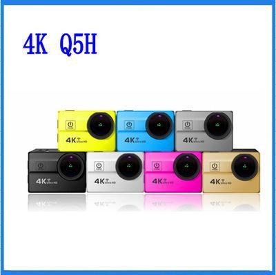 Q5H Baru 2.0-Inci 4 K WIFI Ultra-Definisi Tinggi Olahraga Kamera 173 Derajat Fisheye Lebar- sudut Lensa Gerakan DV-Internasional