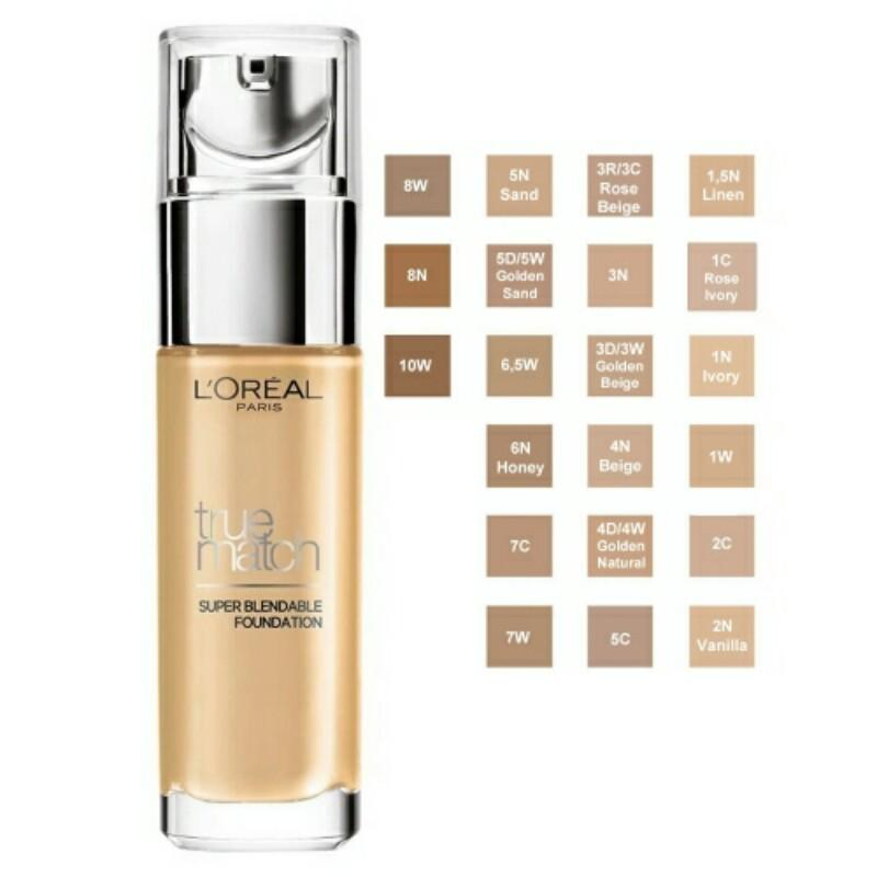 True match super-blendable foundation (2.N vanille) Philippines
