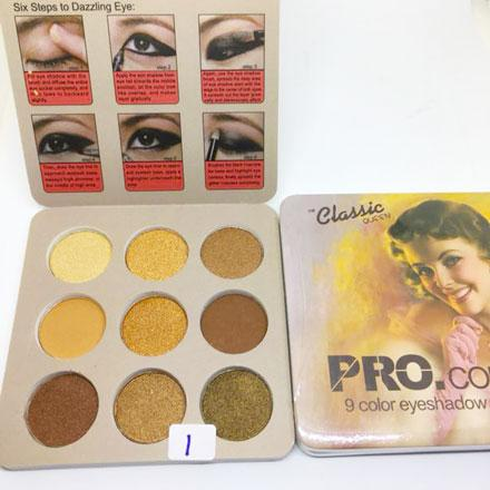 8214-01 PRO .COLOR CLASSIC QUEEN 9 EYESHADOW PALETTE Philippines