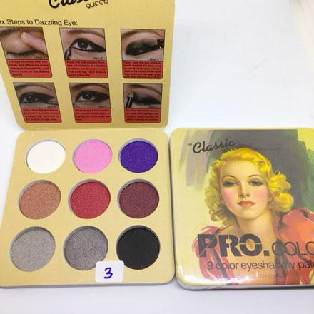 8214-03 PRO .COLOR CLASSIC QUEEN 9 EYESHADOW PALETTE Philippines