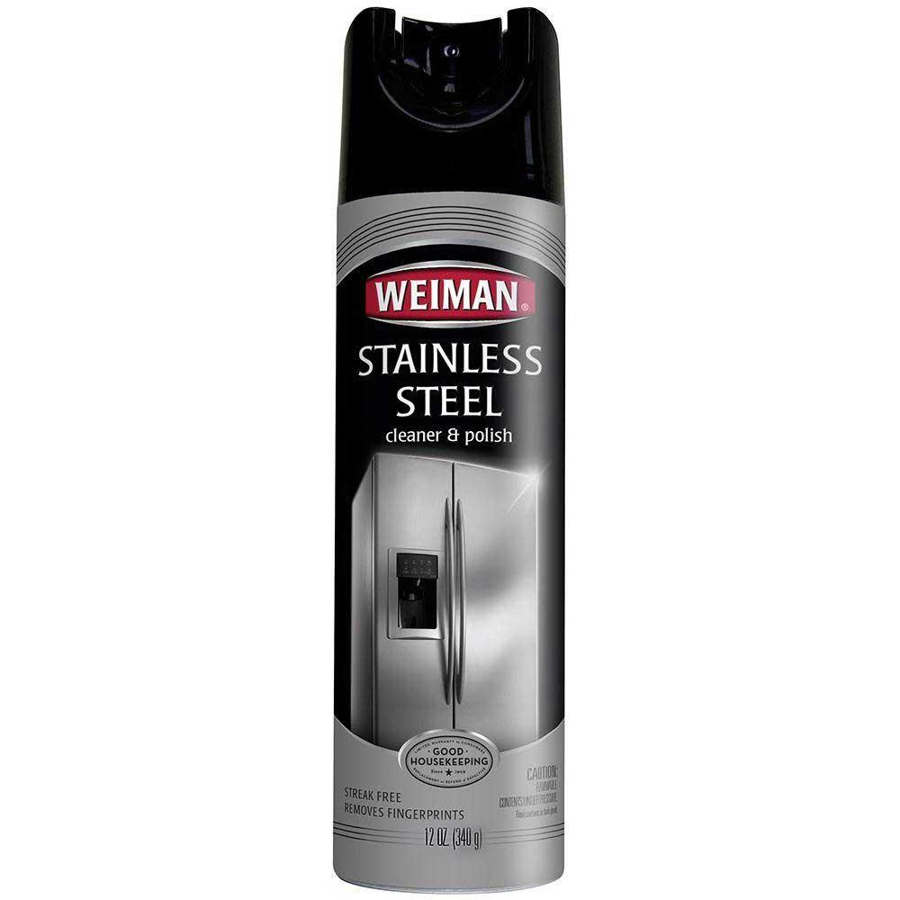 Weiman Stainless Steel Cleaner & Polish Spray12oz (340g) By Souq Ph