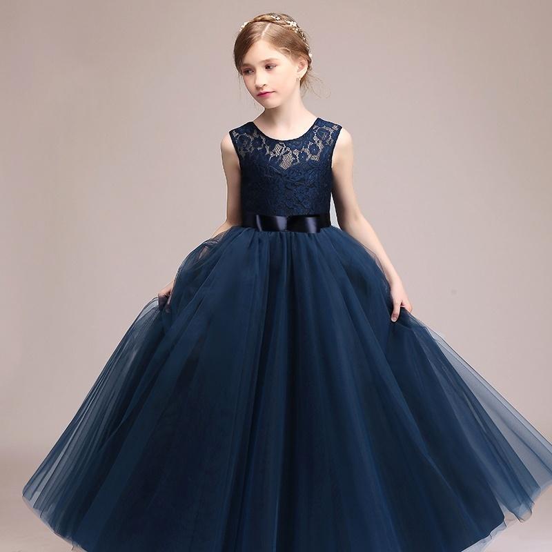 48af65abb5181 Elegant Pink Princess Dress for Kids Birthday Great Gift Teens Girls Formal  Dresses Party Kids Sleeveless Vestidos - intl