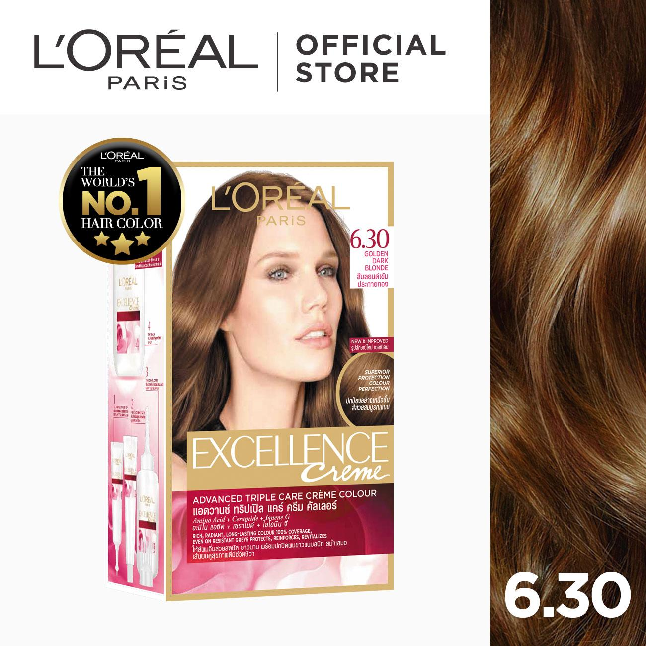 L Oreal Excellence Creme Hair Color Chart Best Hair Color 2018