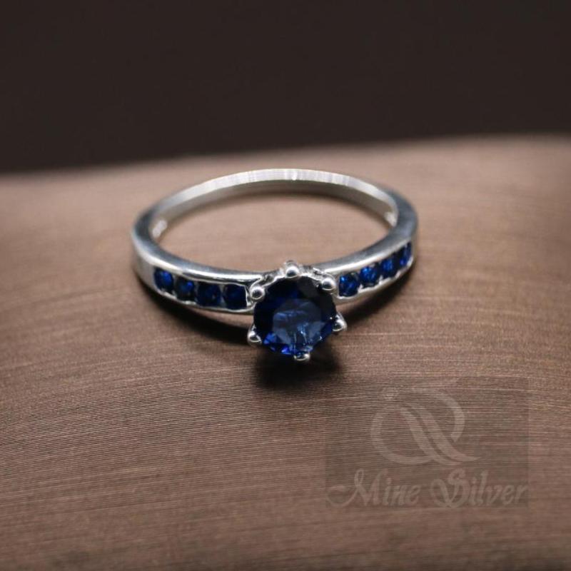 Women Stones Ring 92 5 Silver Rl121