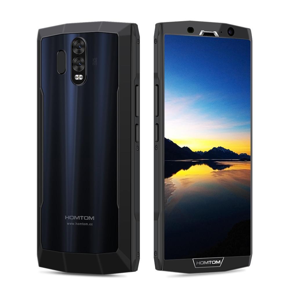 HOM TOM HT70 4G Phablet 6.0 inch Android 7.0 MTK6750T Octa Core 1.5GHz 4GB RAM 64GB ROM Dual Rear Cameras 10000mAh Battery-BLACK