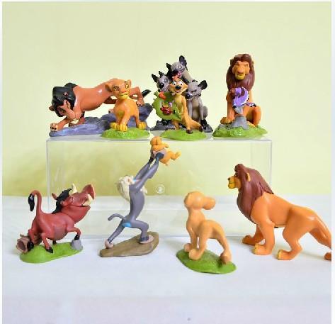 PHP 1.639 9pcs/set New hot sale anime figure toys The Lion King ...