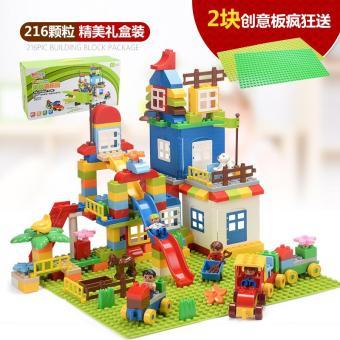 Harga preferensial ✅Anak-anak Ukuran Besar Mainan Balok Lego anak on