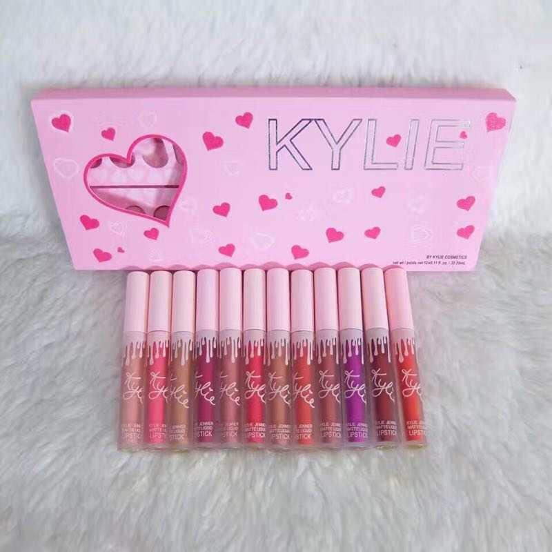 Kylie 12in1 Matte Liquid Lipstick Set Philippines