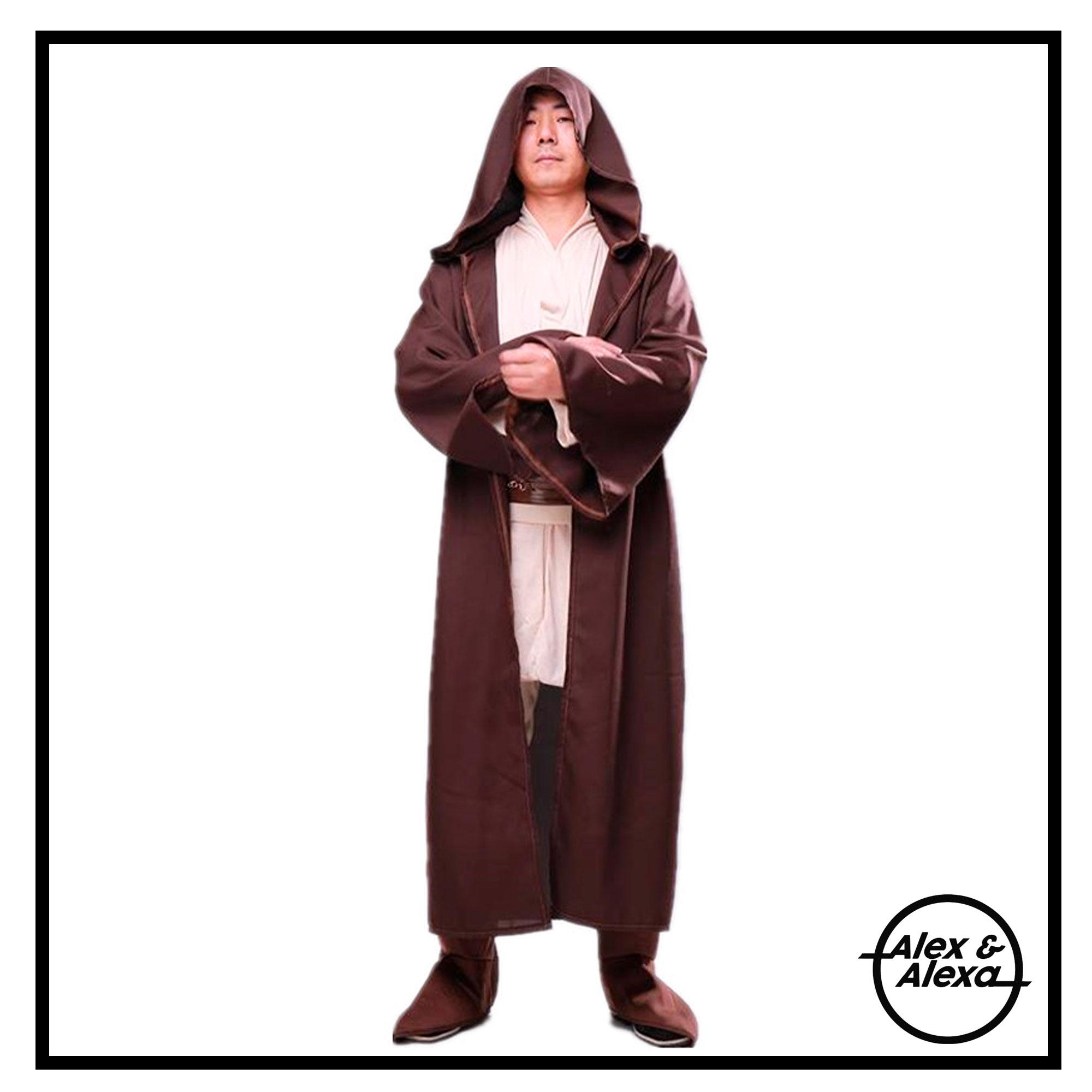 9a5c0c0e14 JEDI ROBE Complete Star W ars MEN WOMEN TEENS ADULT Unisex Cosplay Costume