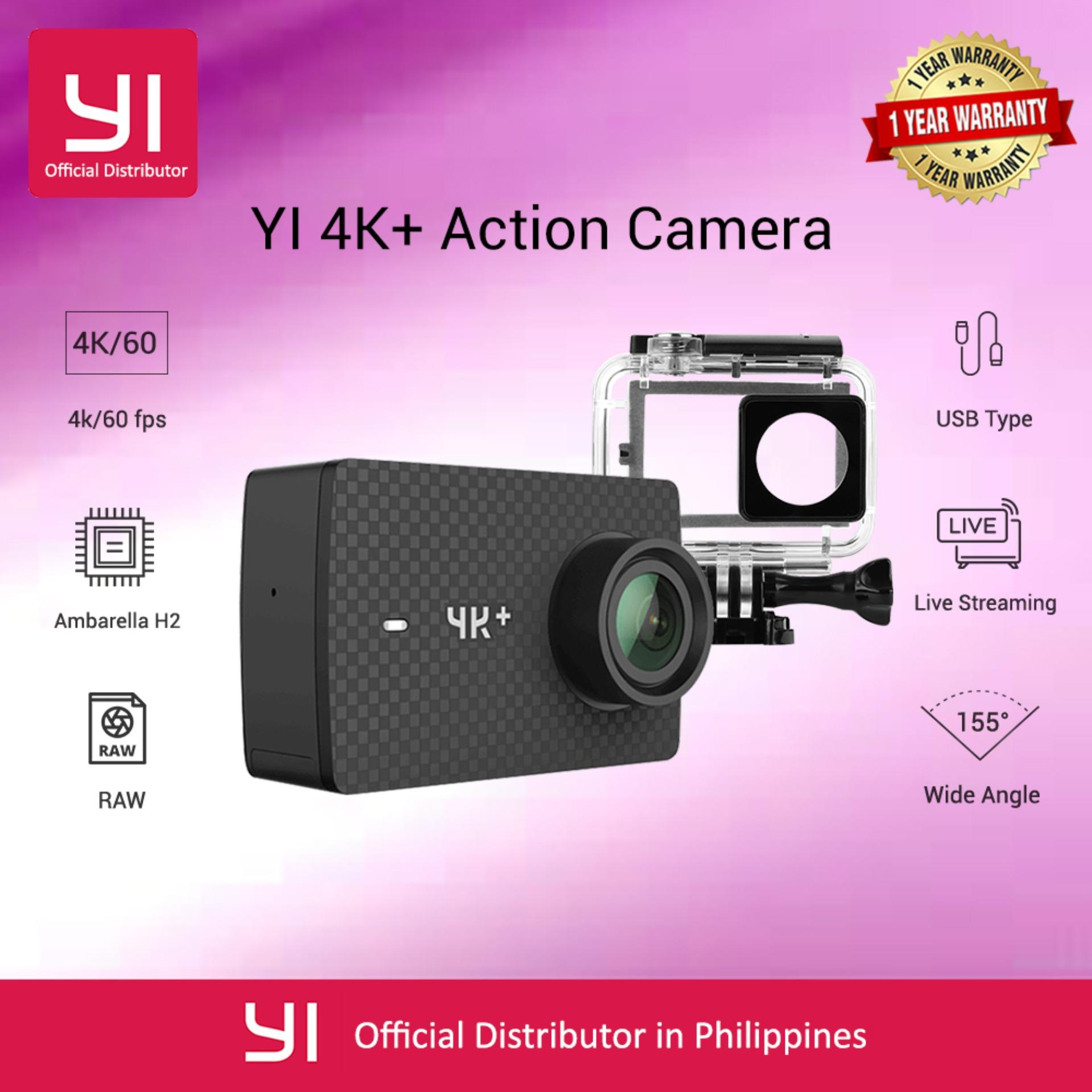 Buy Sell Cheapest Yi Best Quality Product Deals Philippines Store Original Dome 720p Camera International Version White 4k Plus Action Only Edition First 60fps Amba H2