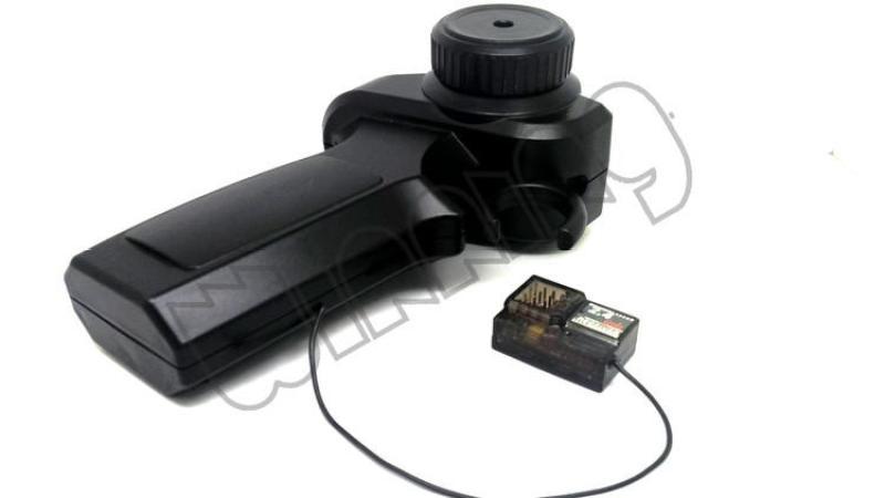 Mua 芸 Ngỗng Màu Đen Nhỏ Điều Khiển Từ Xa Mini 2.4G Chạy Điện Xe Ván Trượt Điều Khiển Điều Khiển Từ Xa Máy Thu Hai Kênh