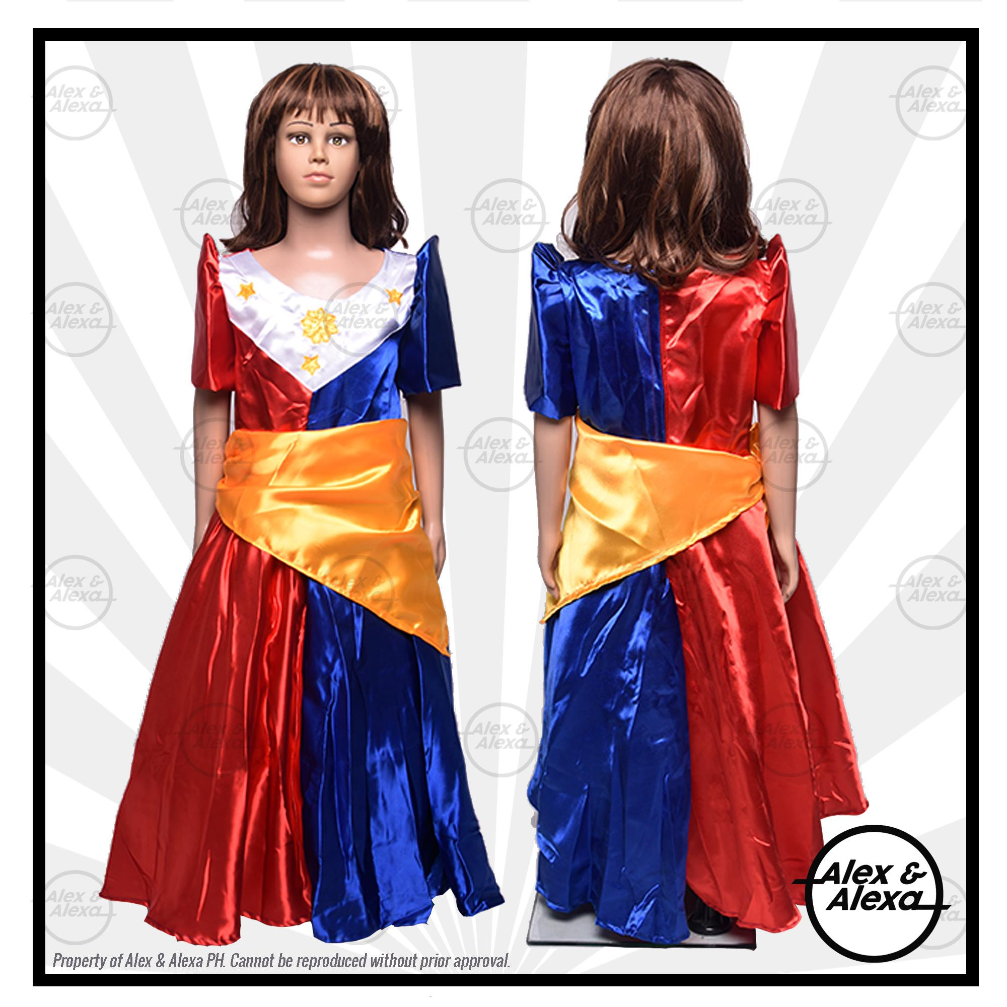Filipiniana Buwan ng Wika FLAG Inspired Costume for Kids Girls  sc 1 st  Lazada Philippines & Kids Costume for sale - Kids Dress Up online brands prices ...