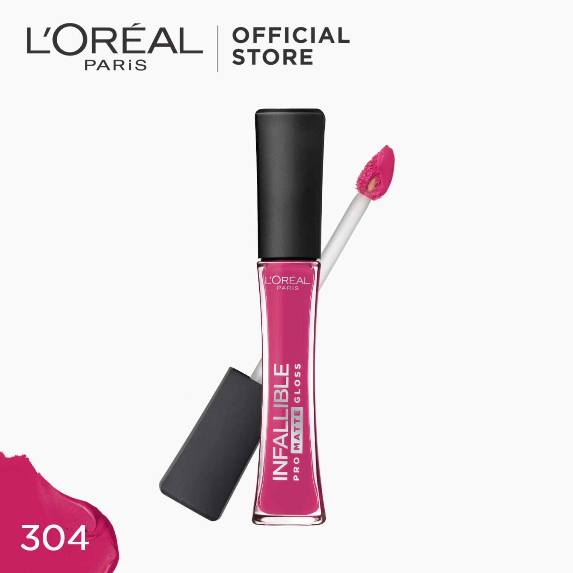 Infallible Pro-Matte Gloss Liquid Lipstick - Rebel Rose 304 [#NeverFail] by LOréal Paris Philippines