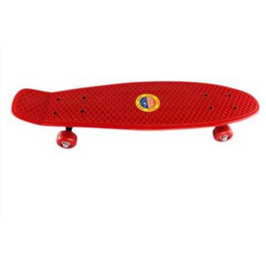 """21"""" Plastic Skateboard (Red)"""