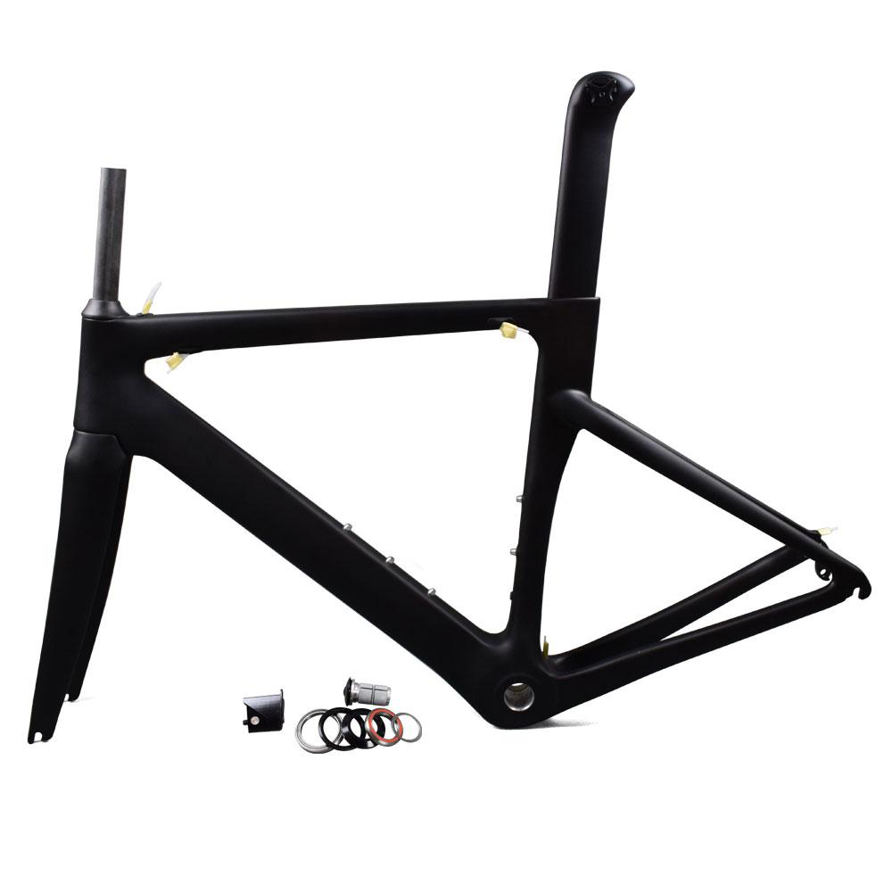 b93e2f622dac Size 48cm 2017 New Carbon Road Racing Frame With 3K BSA Matte Finish - intl
