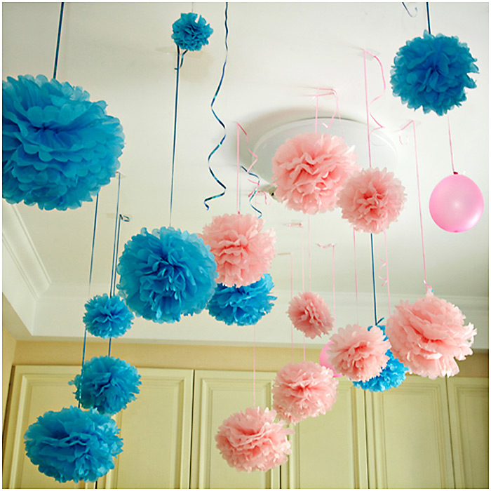 Tissue Paper Flowers For Birthday Party - Flowers Healthy