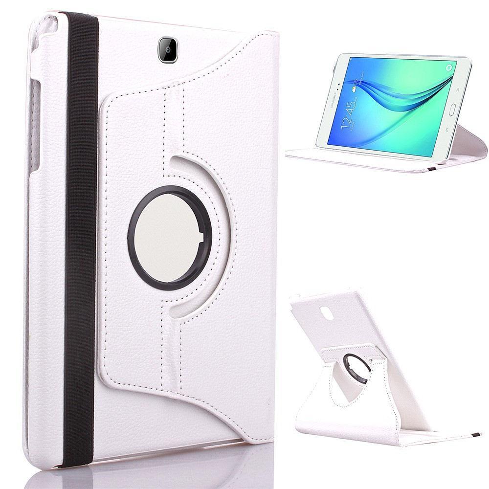 1 Pc/lot untuk Galaksi Tab 4 8.0 Case PU Kulit 360 Berputar Case untuk Samsung Galaksi Tab 4 8.0 T330 t331 T335 Pintar Case Lipat Case S Multi-warna