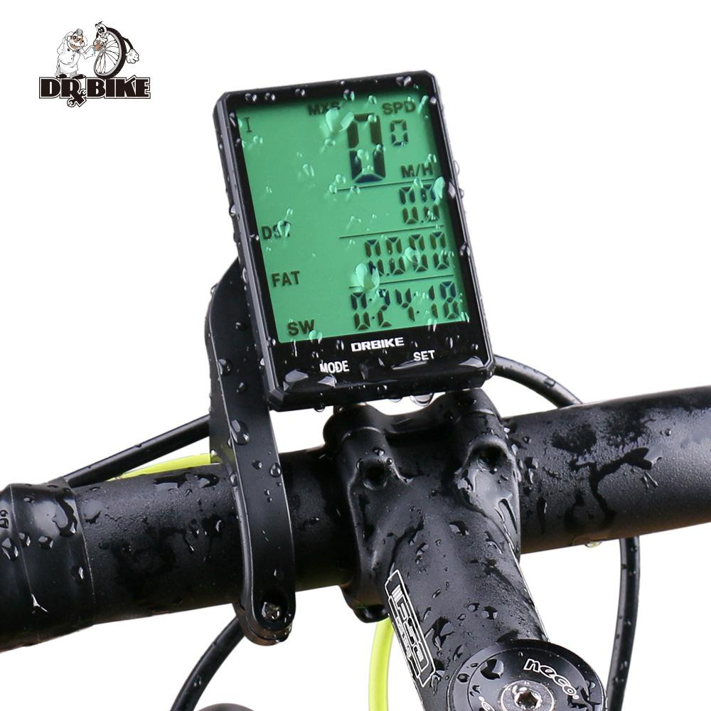 Bike Computers For Sale Cycling Computer Online Brands Prices Spidometer Cateye Strada Cadence Drbike 28large Screen Bicycle Wired Not Wireless Touch Speedometer Odometer