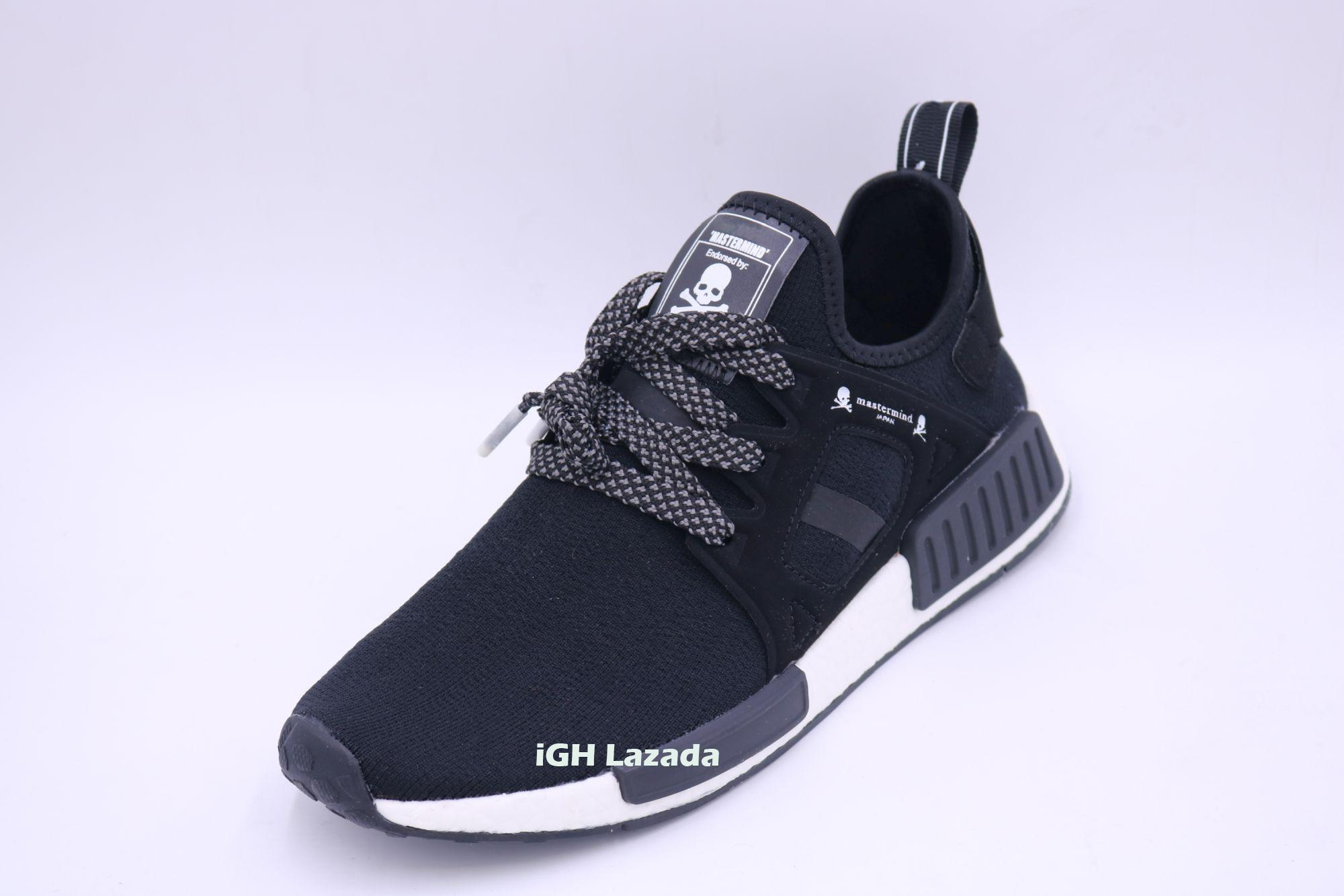 MEN NMD Mastermind Japan X XR1 Fashion Sneakers Running Shoes (Black) - 2