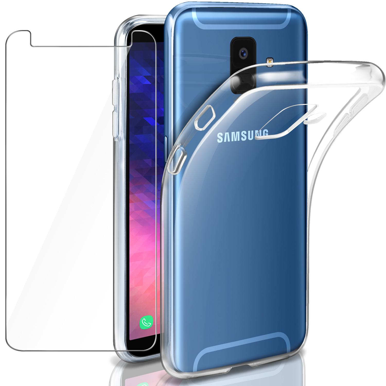 Buy Sell Cheapest Screen Glass Film Best Quality Product Deals Nintendo Switch Mocolo Original 9h Premium Tempered Rymall For Samsung Galaxy A6 2018 Case Shockproof Casing Ultra Slim Clear Soft Tpu Flexible Silicone