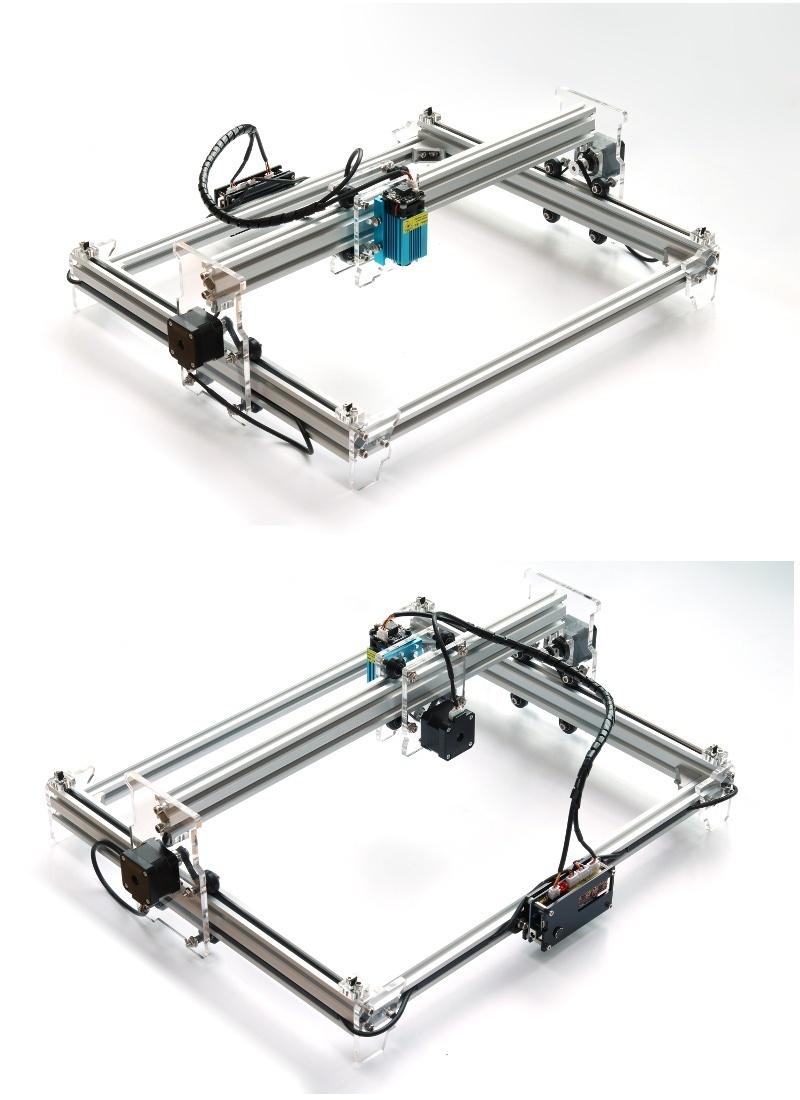 EleksLaser A3 2500mW Desktop DIY Violet Laser Engraver Cutter - intl